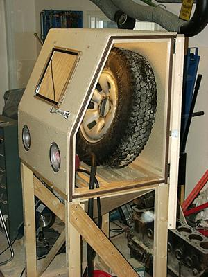 How To Make A Grit Blasting Cabinet Cabinets Matttroy
